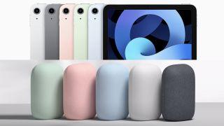 iPad Air and Google Nest