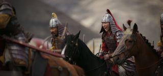"Yifei Liu as Mulan in the live-action version of ""Mulan."""