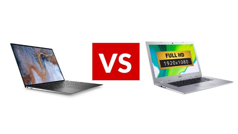 Dell XPS 13 (2020) vs Acer Chromebook 315