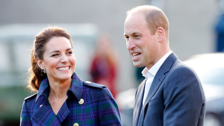 Prince William and Kate Middleton host a drive-in cinema screening of Disney's 'Cruella' for Scottish NHS workers