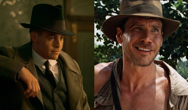 Chris Pine Harrison Ford Steve Trevor Indiana Jones