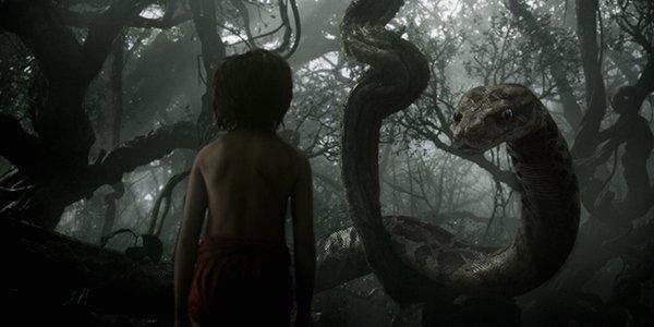 Mowgli and Kaa