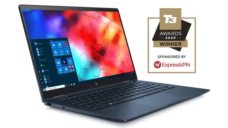 HP Elite Dragonfly Best laptop T3 Awards 2020