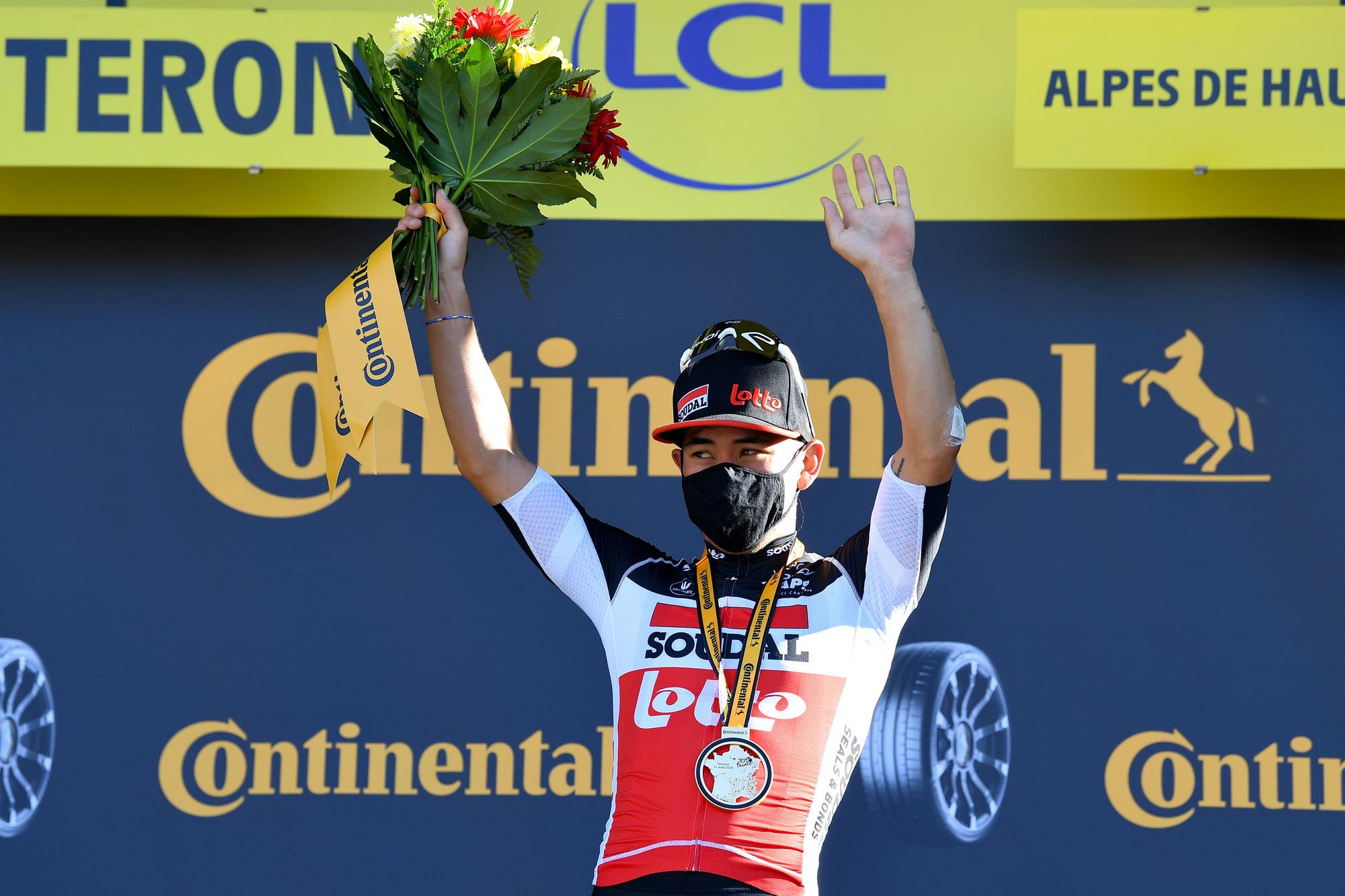Tour de France 2020 107th Edition 3rd stage Nice Sisteron 198 km 31082020 Caleb Ewan AUS Lotto Soudal photo POOL David StockmanBelgaBettiniPhoto2020