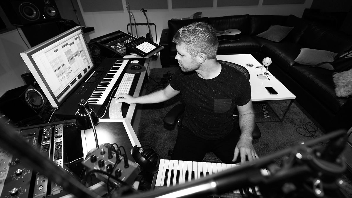 """Morgan Page: """"Ableton's very flat and cartoony; it's almost like you're reading a paper. That changes your perception of the sound"""""""