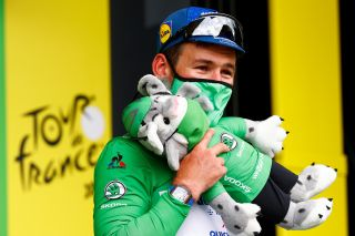 Mark Cavendish of Deceuninck-QuickStep takes over points classification lead