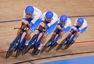 Italy win Olympic gold in the team pursuit Tokyo 2021