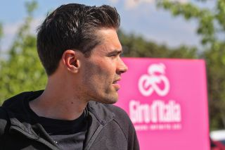 Tom Dumoulin at the 2019 Giro d'Italia