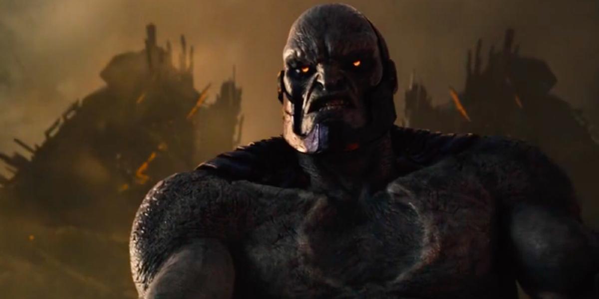 Zack Snyder's Justice League Darkseid snarling