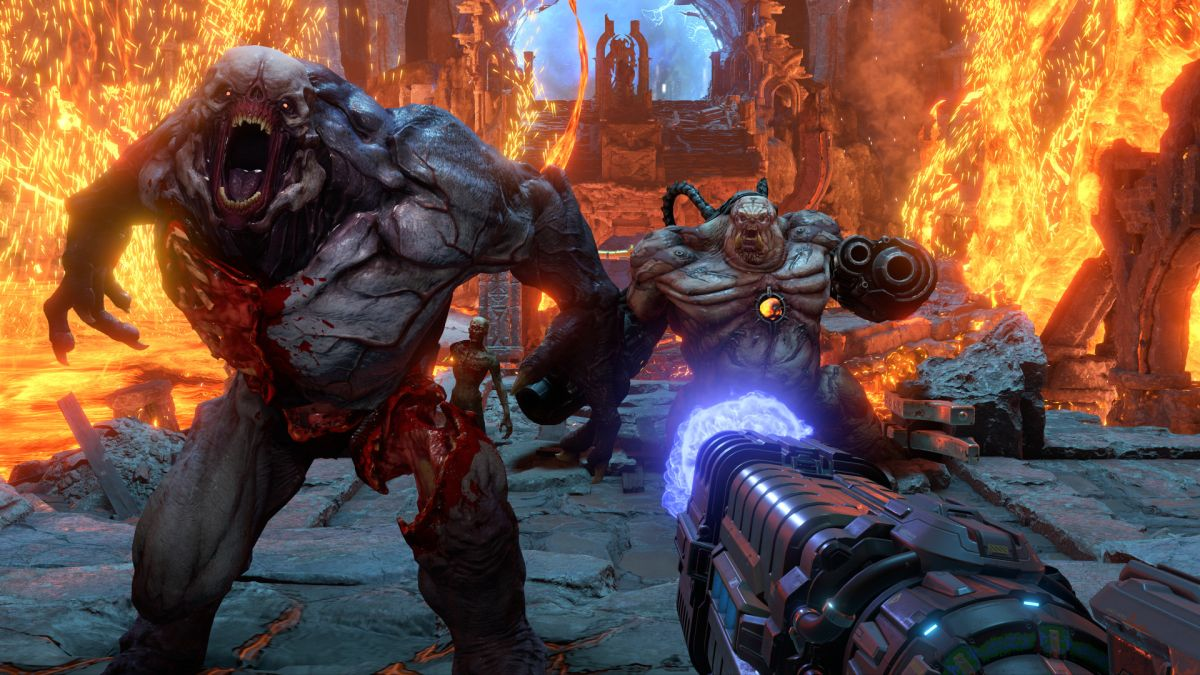 Doom Eternal won't launch with ray tracing – and may not get it for quite some time