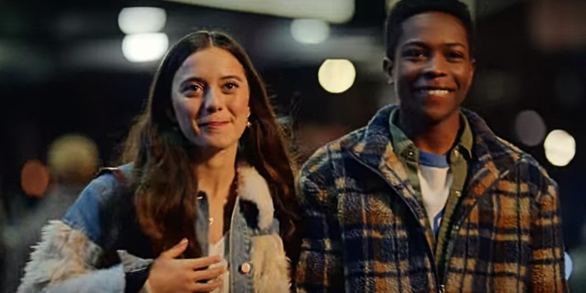 Keana Marie and Dante Brown in Dash and Lily