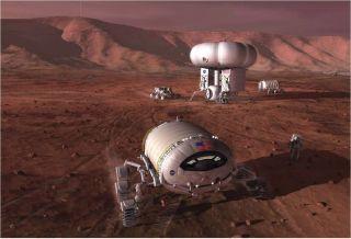 Mars Base: NASA Concept