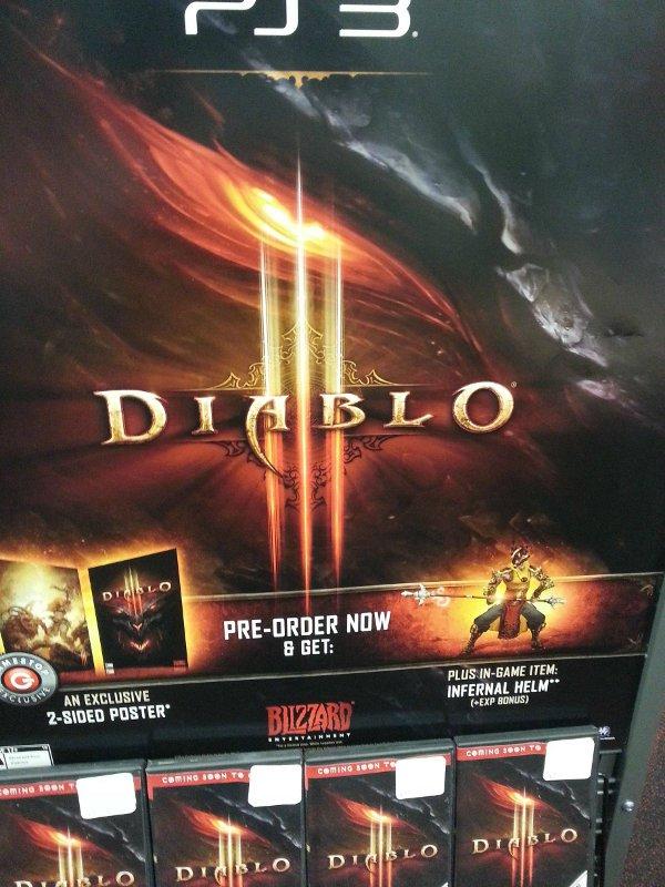 Diablo 3 PS3 Pre-Order