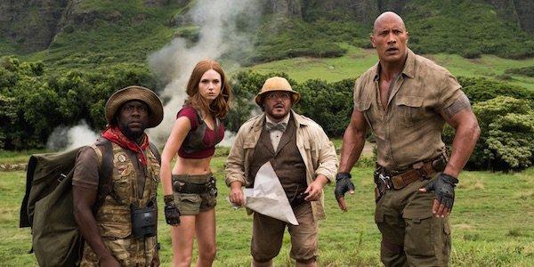 Jumanji: Welcome to the Jungle cast