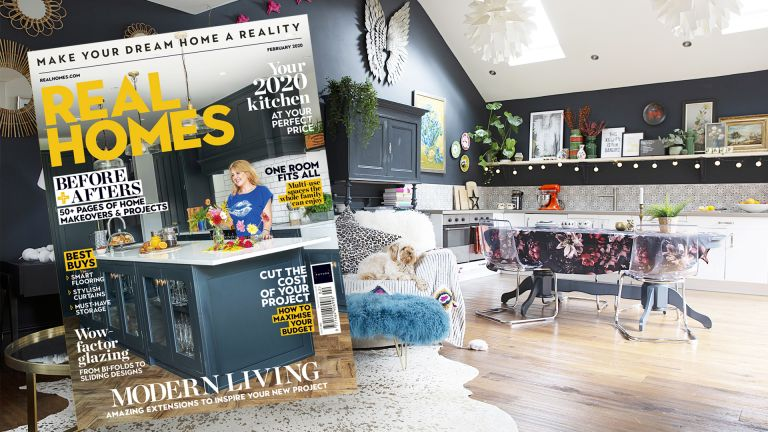 Real Homes magazine February issue front cover