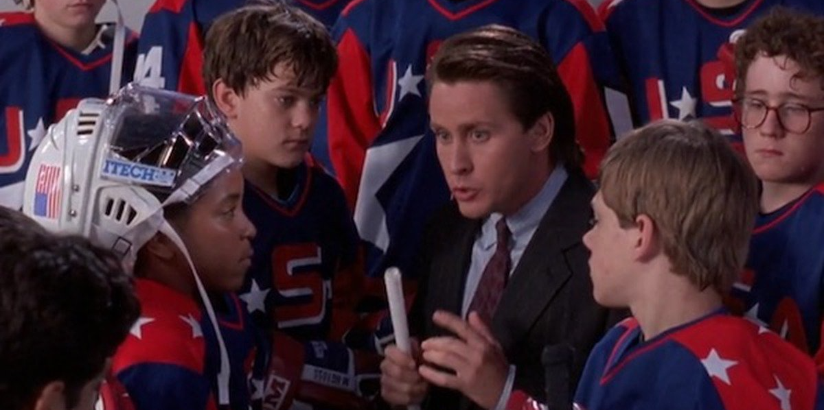 Coach Bombay getting the team pumped up