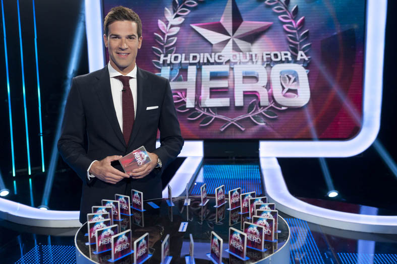 Gethin Jones: 'Hero has been very emotional!'
