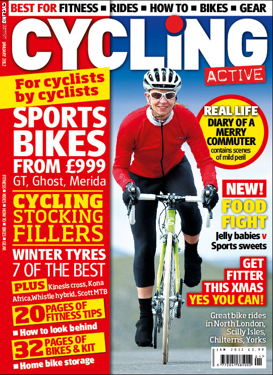 Cycling Active January 2012 issue