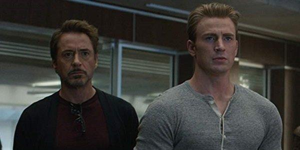 Tony Stark Steve Rodgers Avengers: Endgame Marvel