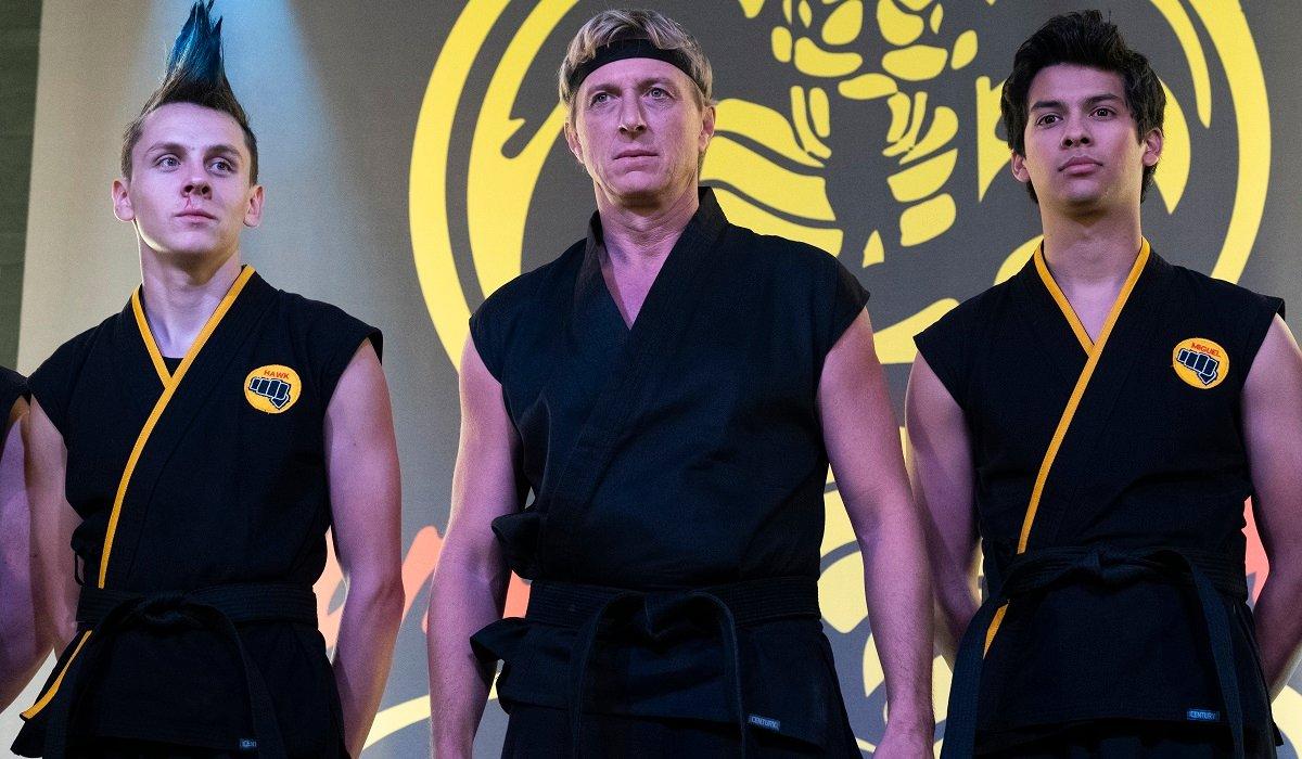 Hawk, Johnny, and Miguel Cobra Kai Netflix