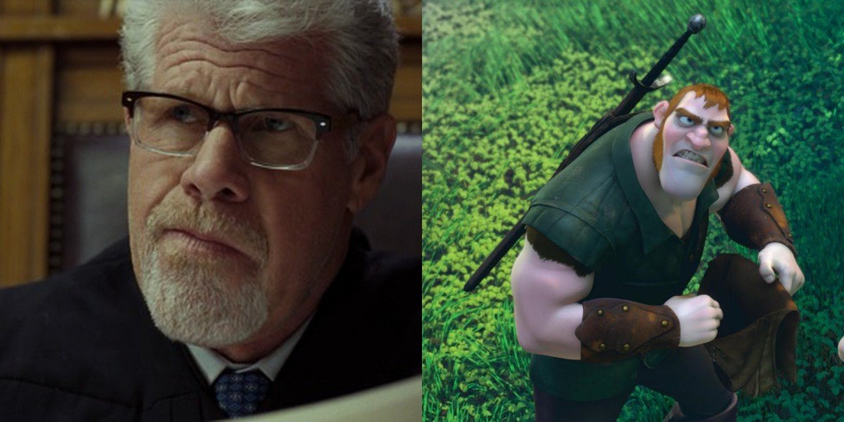 Ron Perlman - Hand of God/Screenshot from Tangled