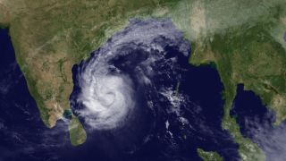 Tropical Cyclone Thane on Dec. 28.