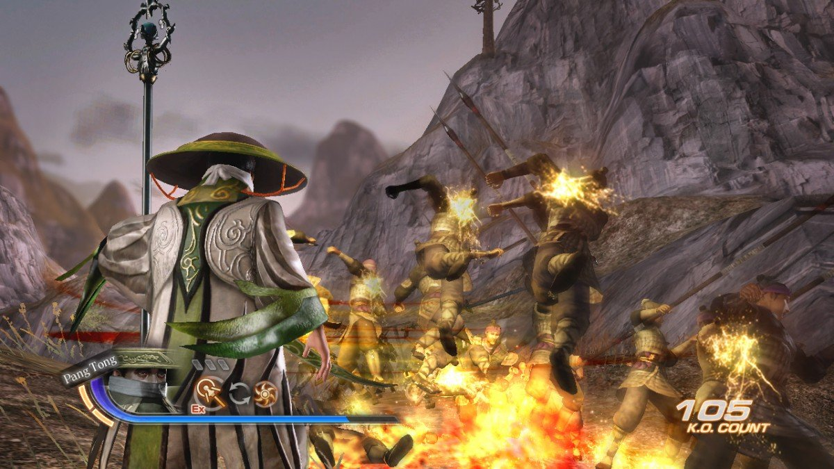 Dynasty Warriors 7 Character And Combat Screenshots #16493