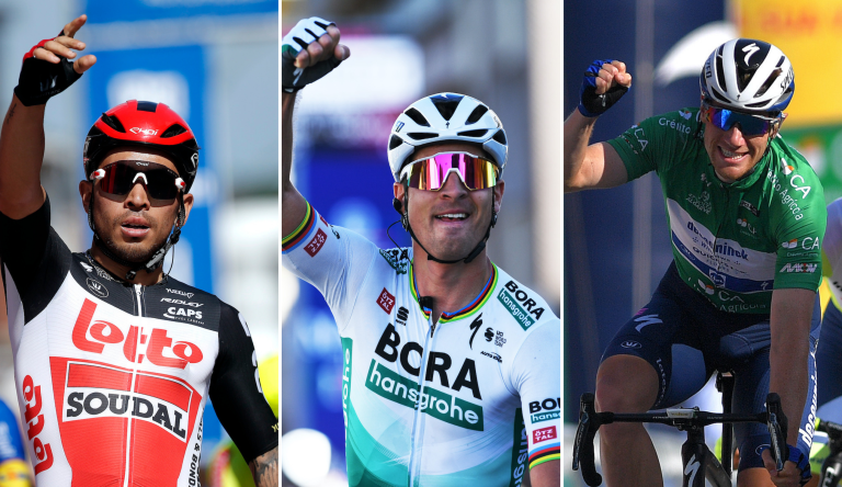 Green jersey contenders for the 2021 Tour de France