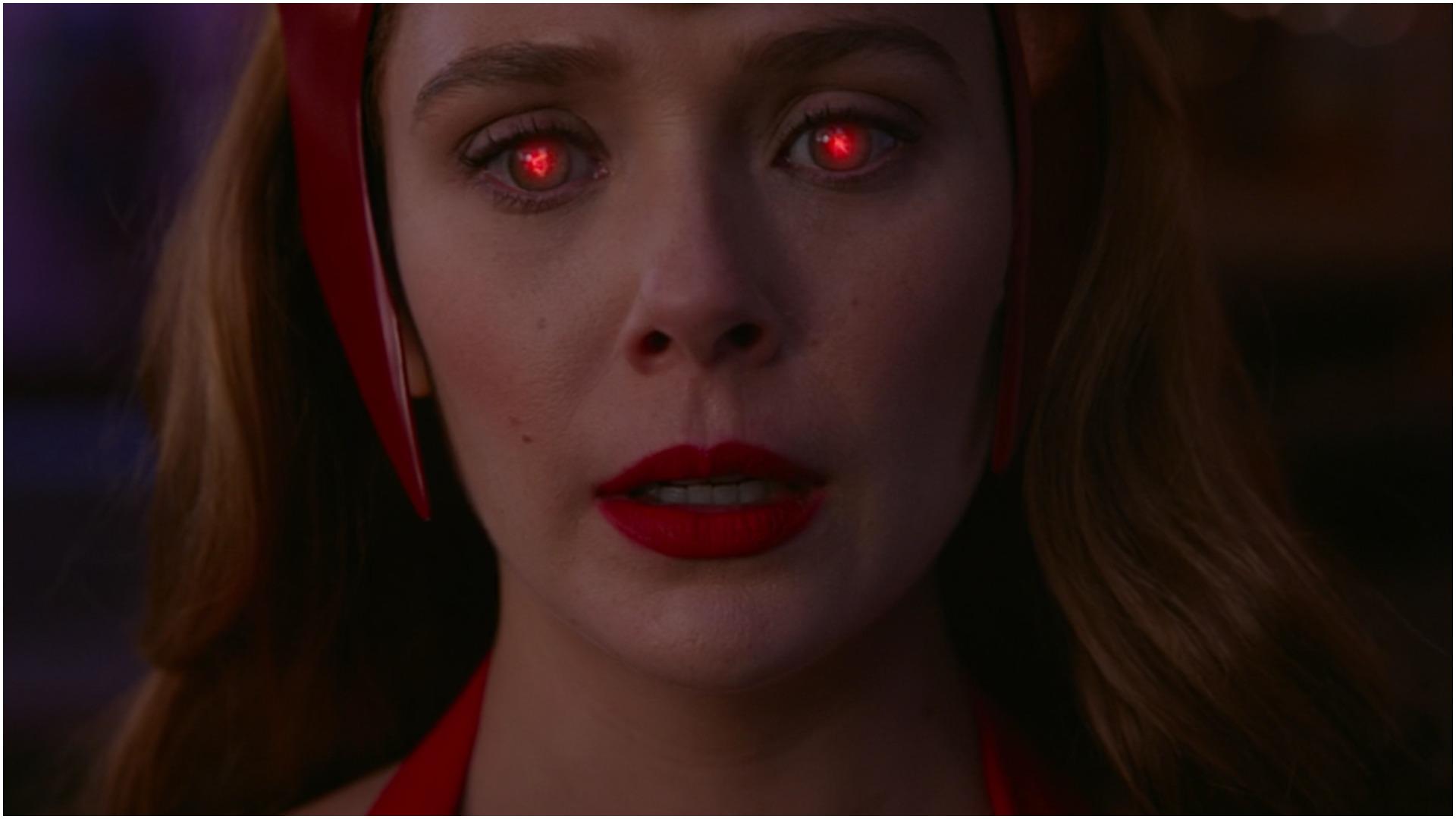 Elizabeth Olsen en WandaVision