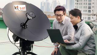 KT SAT 5G satellite