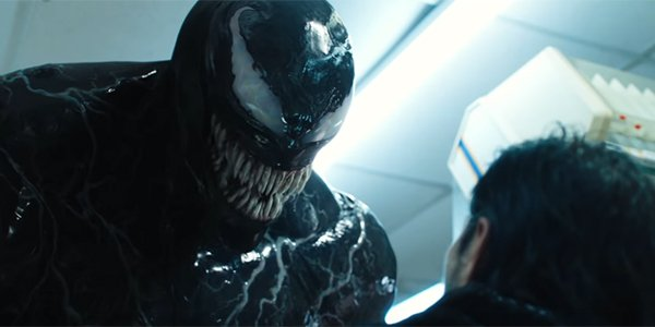 Venom 2018 Tom Hardy Threatening