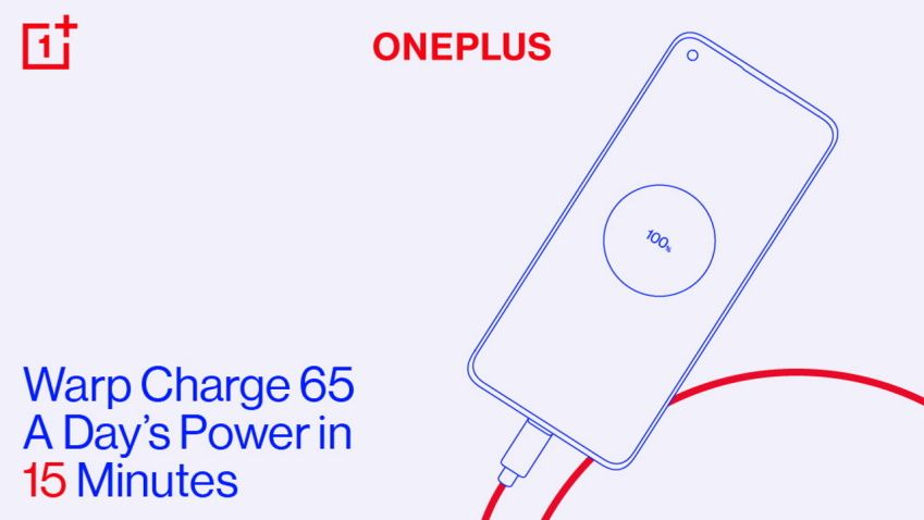 OnePlus 8T Warp Charge 65 revealed — and it's crazy fast
