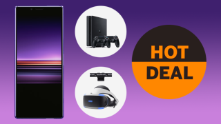Best pre-Black Friday deal ever: get a FREE PLAYSTATION 4 with a Sony Xperia 1!