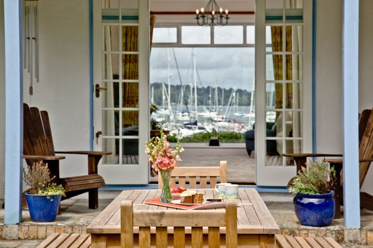 Cregoes at Mylor in Cornwall UK holiday home
