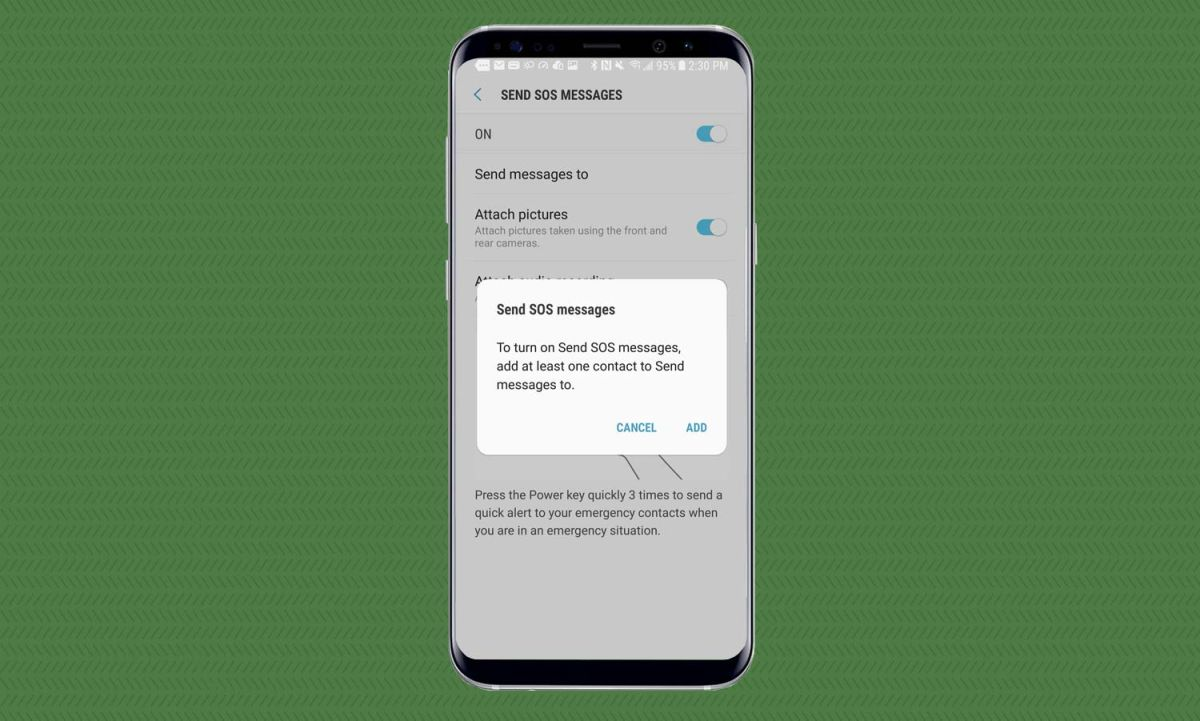 How To Send an SOS Message on the Galaxy S8 - Samsung Galaxy