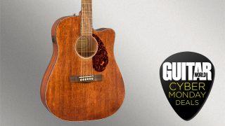 Fender CD-60SCE All Mahogany CM deal