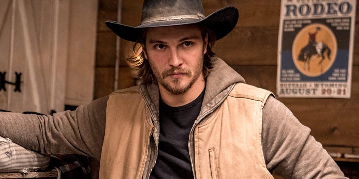 Luke Grimes on Yellowstone