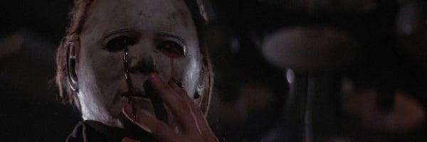 Halloween II Michael Myers bleeding through his mask