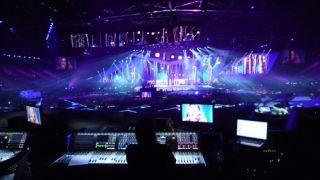 HARMAN Soundcraft Vi6 Consoles at Eurovision