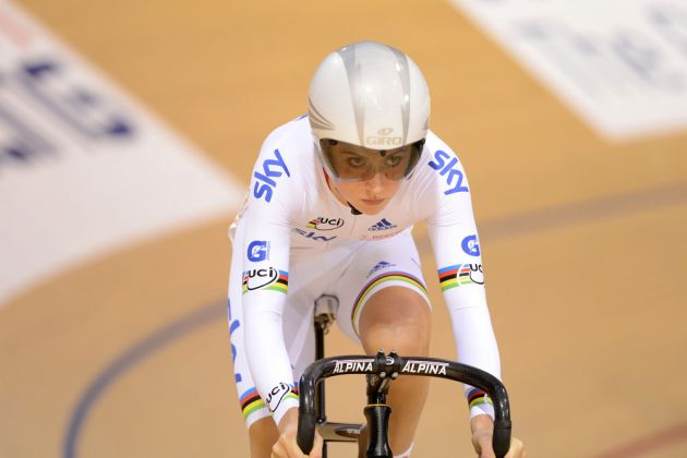 Laura Trott, Track World Cup, Glasgow 2012, day two