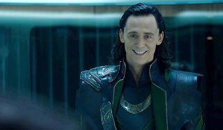 The Avengers Loki mocking imprisonment