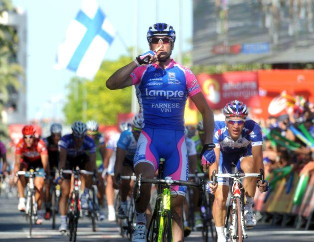 Alessandro Petacchi wins stage, Vuelta a Espana