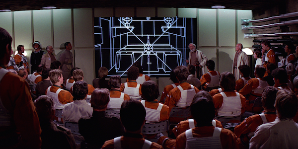 Star Wars Death Star attack meeting