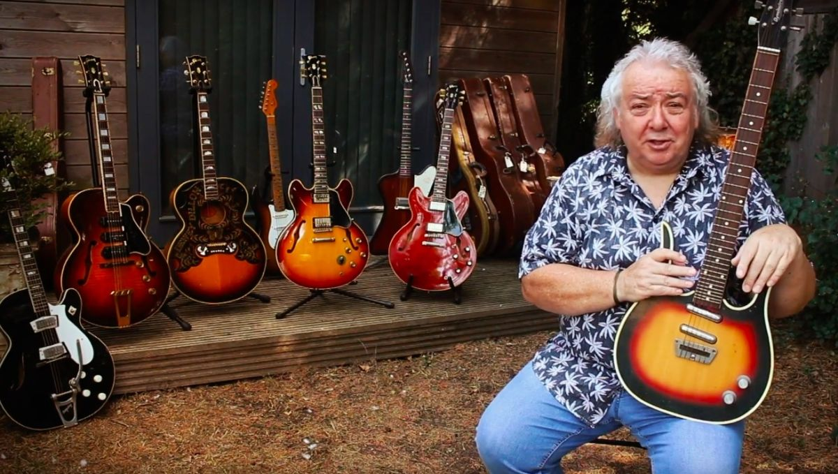 Former Whitesnake Guitarist Bernie Marsden Unveils Book on His Extensive Six-String Collection