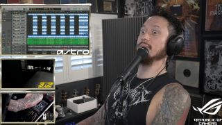 Matt Heafy on Twitch stream