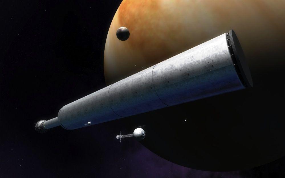 Interstellar Space Travel: 7 Futuristic Spacecraft to