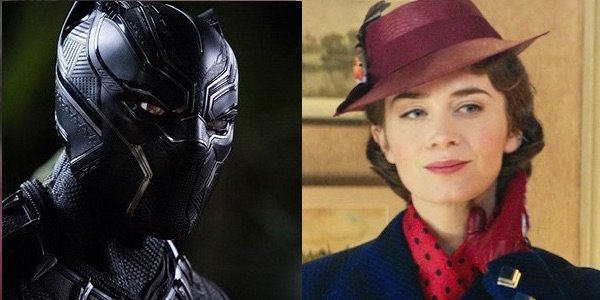 Black Panther and Mary Poppins