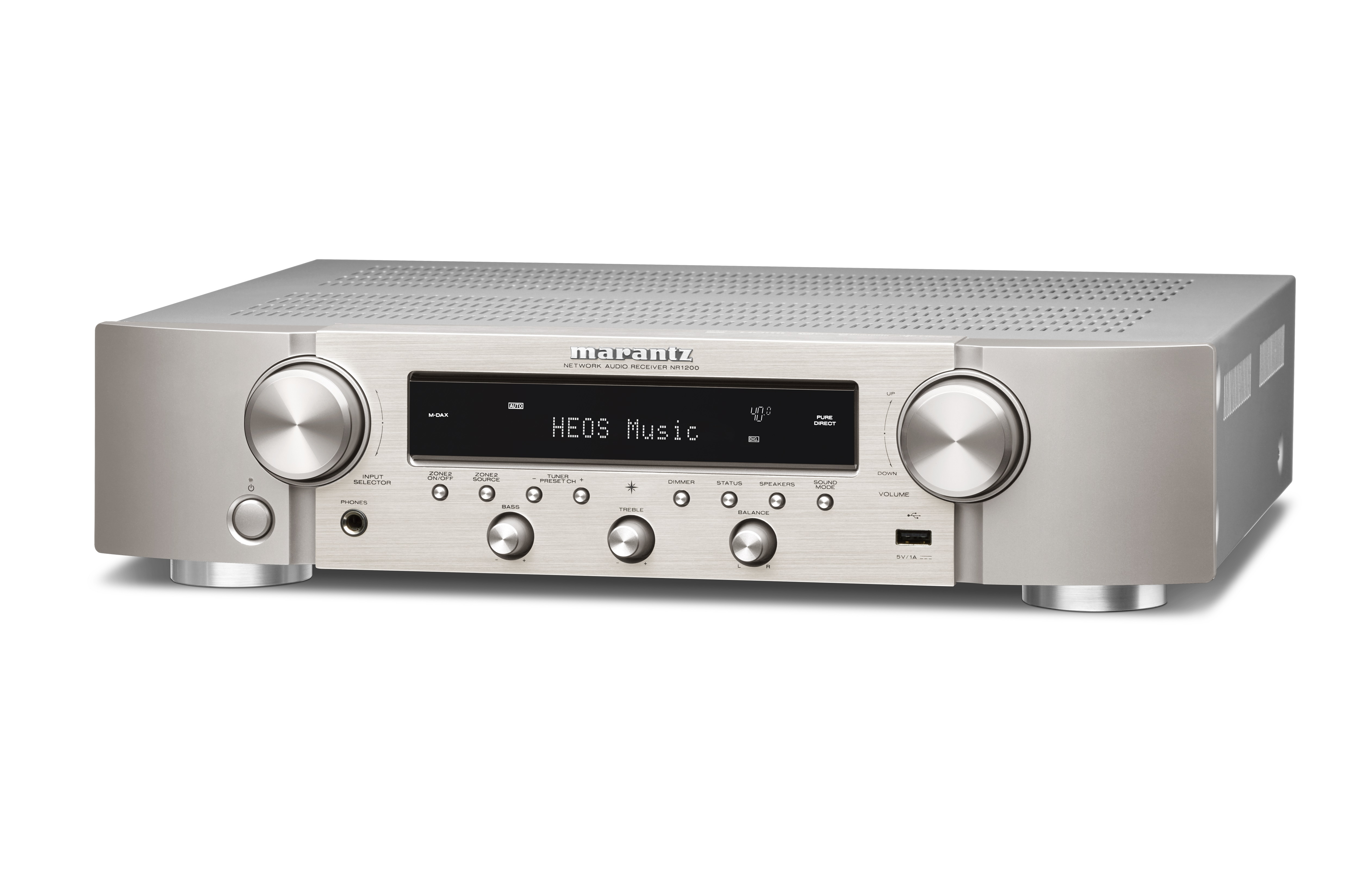 Marantz NR1200 is a feature-packed slimline stereo receiver
