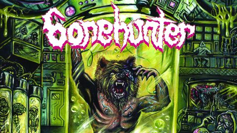 Cover art for Bonehunter - Sexual Panic Human Machine album