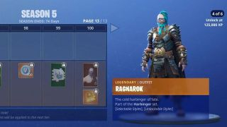 Fortnite season 5 Ragnarok skin